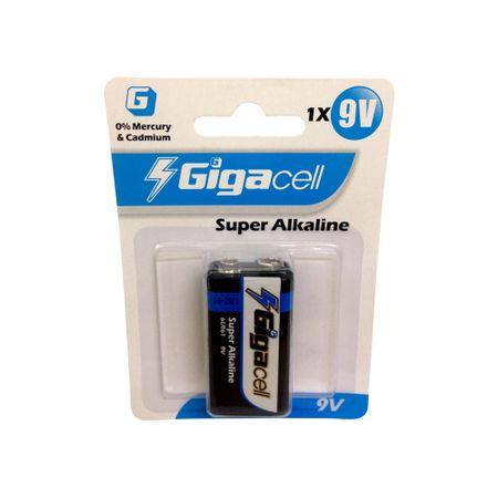 Bateria Alcalina 9v Gigacell