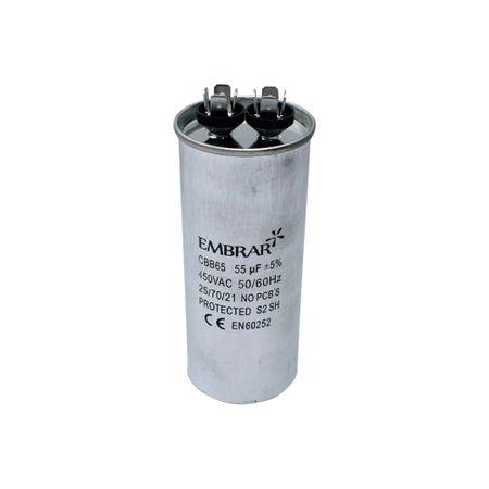 Capacitor Permanente ou de Partida 55uF