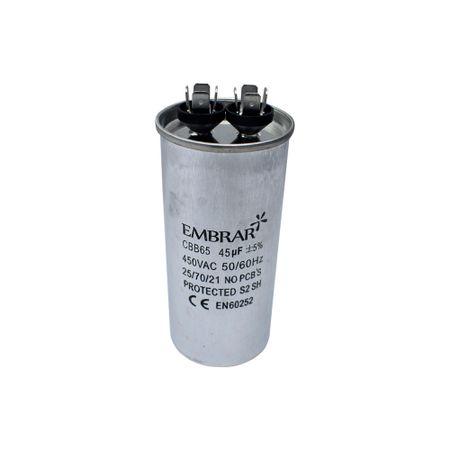 Capacitor Permanente ou de Partida 45uF