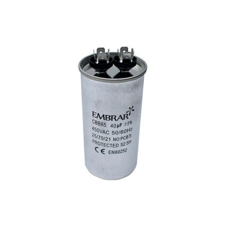 Capacitor Permanente ou de Partida 40uF