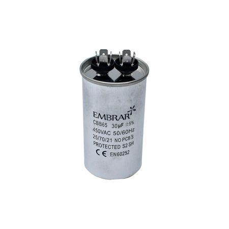 Capacitor Permanente ou de Partida 30uF