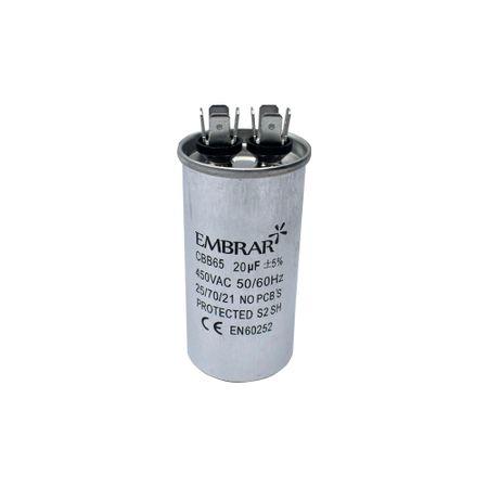 Capacitor Permanente ou de Partida 20uF