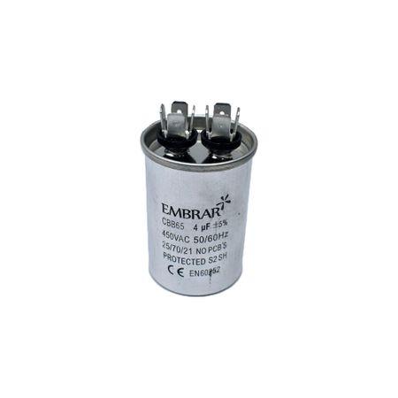 Capacitor Permanente ou de Partida 4uF