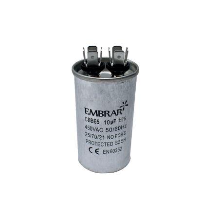 Capacitor Permanente ou de Partida 10uF