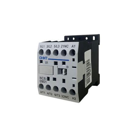 Mini Contator de Potência Auxiliar 3NA + 1NF 9A 220V