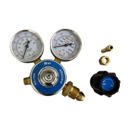 Regulador de Pressão Cilindro Acetileno