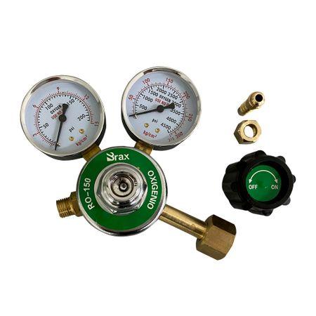 Regulador Pressão Oxigênio